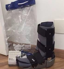 bota robofoot - locação 30 dias
