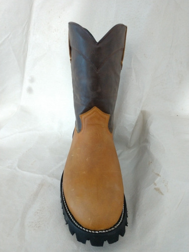 bota roper black horse (casual/trabajo-usorudo) confortable.