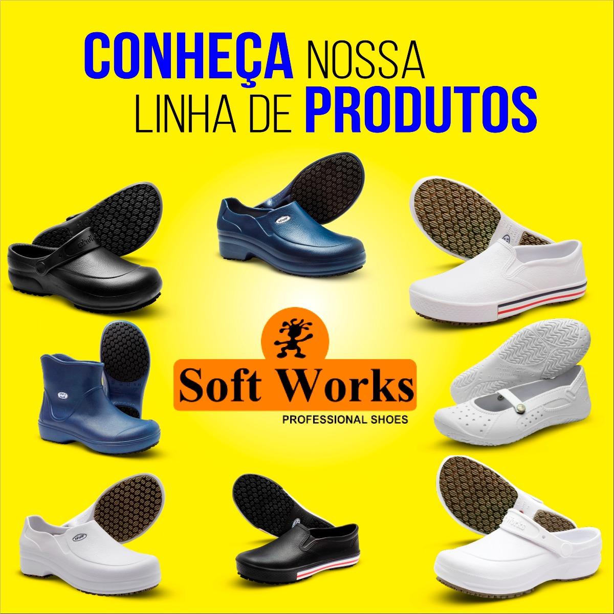 Bota Sapato Eva Cozinha Industrial Antiderrapante Ca Bb85 R 71 82