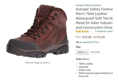 bota seguridad industrial ergonómic  helly talla 40 41 45 43