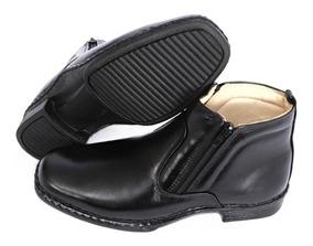 159956c3b Sapato Social Masculino Bico Fino Antistress Imperndível · Bota Social Anti- stress Botina Ortopédica Bico Quadrado