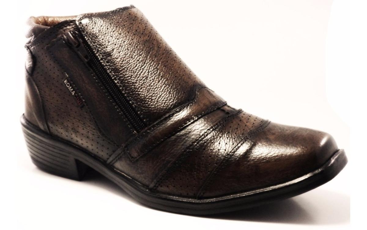 88bcb4841c9a5 bota social / botina social masculina - 100% couro legitimo. Carregando  zoom.