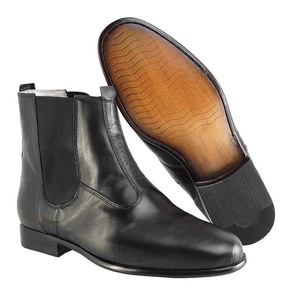 bf3d348ece bota social hb agabe boots - 400.001 - pl preto - solado de. Carregando  zoom.