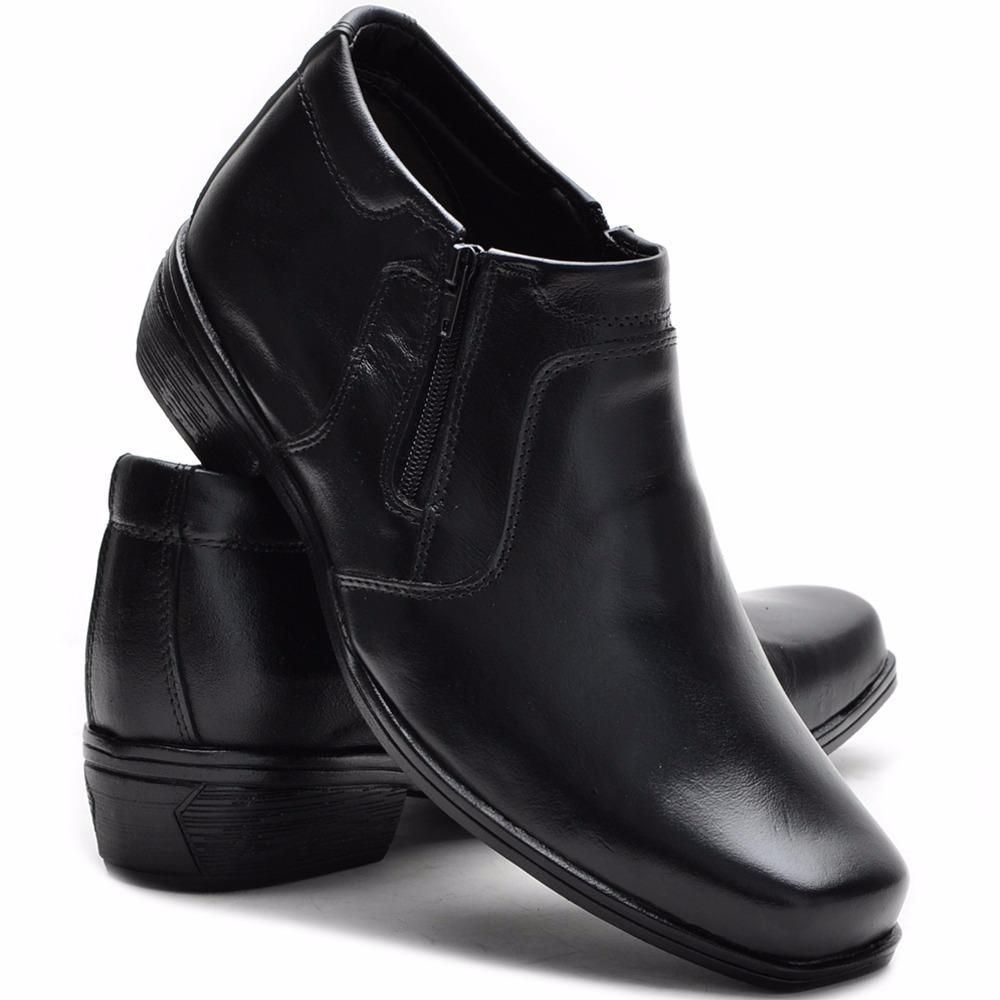 ae2c94c98 bota social masculina botina em couro. Carregando zoom.