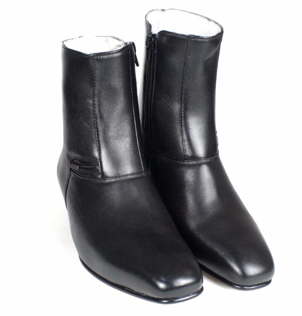 bota social masculina pele carneiro sola couro francashoes. Carregando zoom. 3f25751ab5a