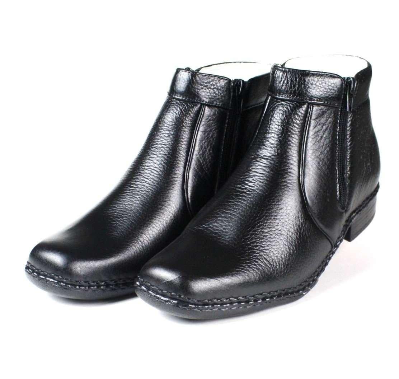 348c599f46 bota social masculina ranster com zíper pele carneiro preta. Carregando  zoom.
