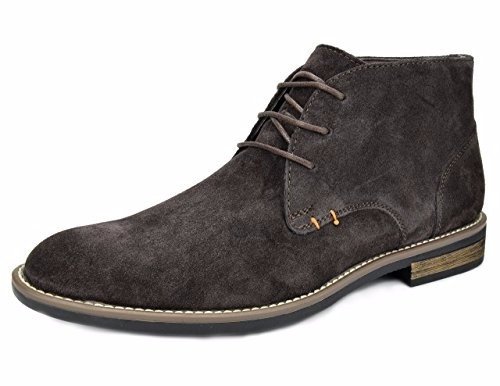 bota suede leather lace up oxfords desert 1 marron  7 us