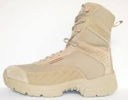 bota táctica marca duty gear kaki