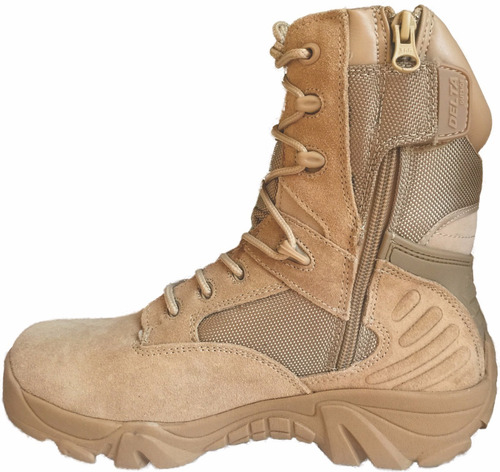 bota tactica militar delta color coyote