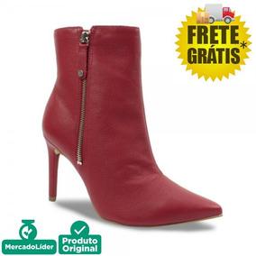 0b6977270 Bota Tamara Over - Botas para Feminino Vermelho no Mercado Livre Brasil