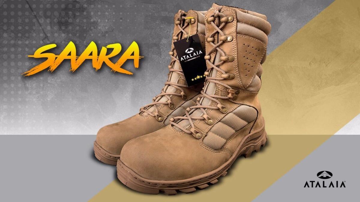 5a67a471ad Bota Tática Militar Saara - Atalaia Original - R$ 396,00 em Mercado ...