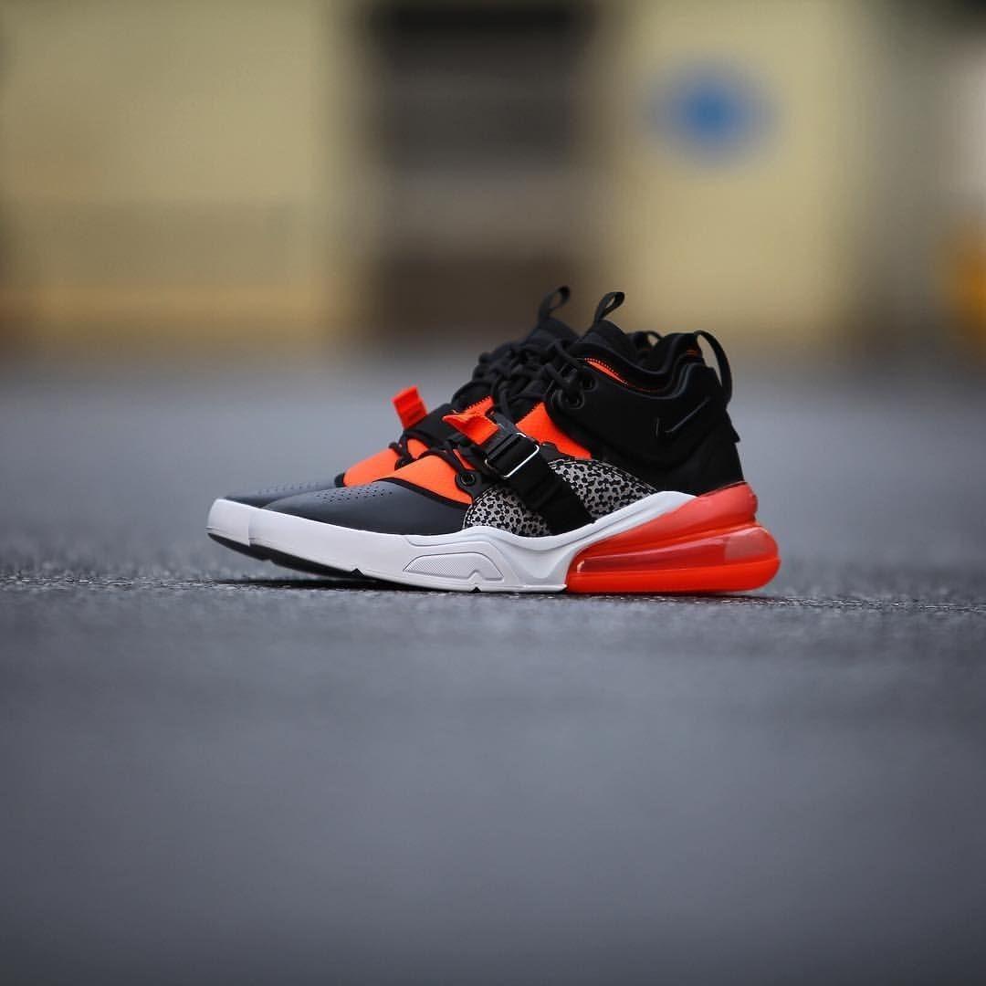 Bota Tenis Nike Air Force 270 De Hombre