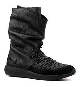 botas nike negras mujer