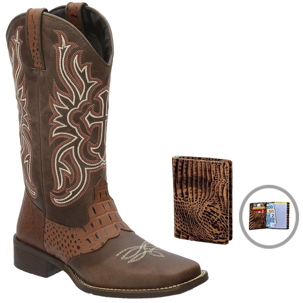 98591d647f04b bota texana artesanal franca - sp em couro + brinde. Carregando zoom.