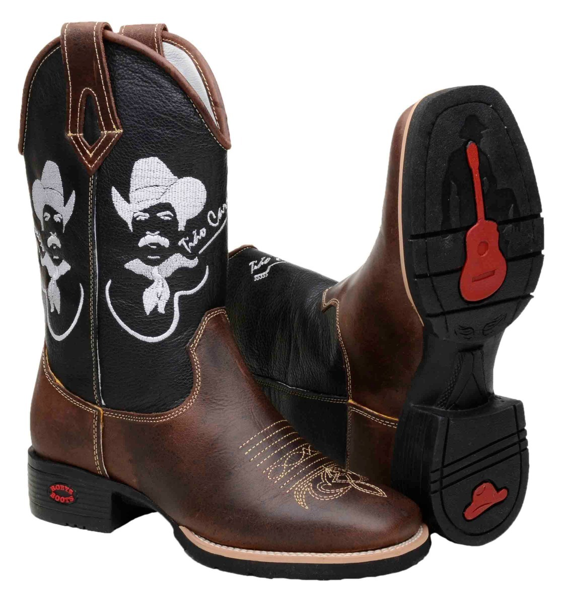 bota texana country masculina bic quadrad cour tião carreiro. Carregando  zoom. a66067eae13