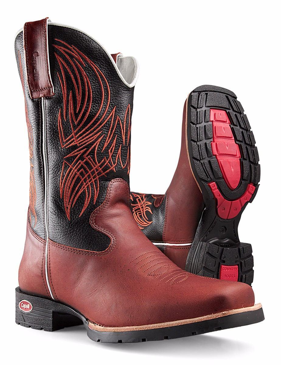 ddcdde3e3c bota texana country masculina bico quadrado capelli boots. Carregando zoom.