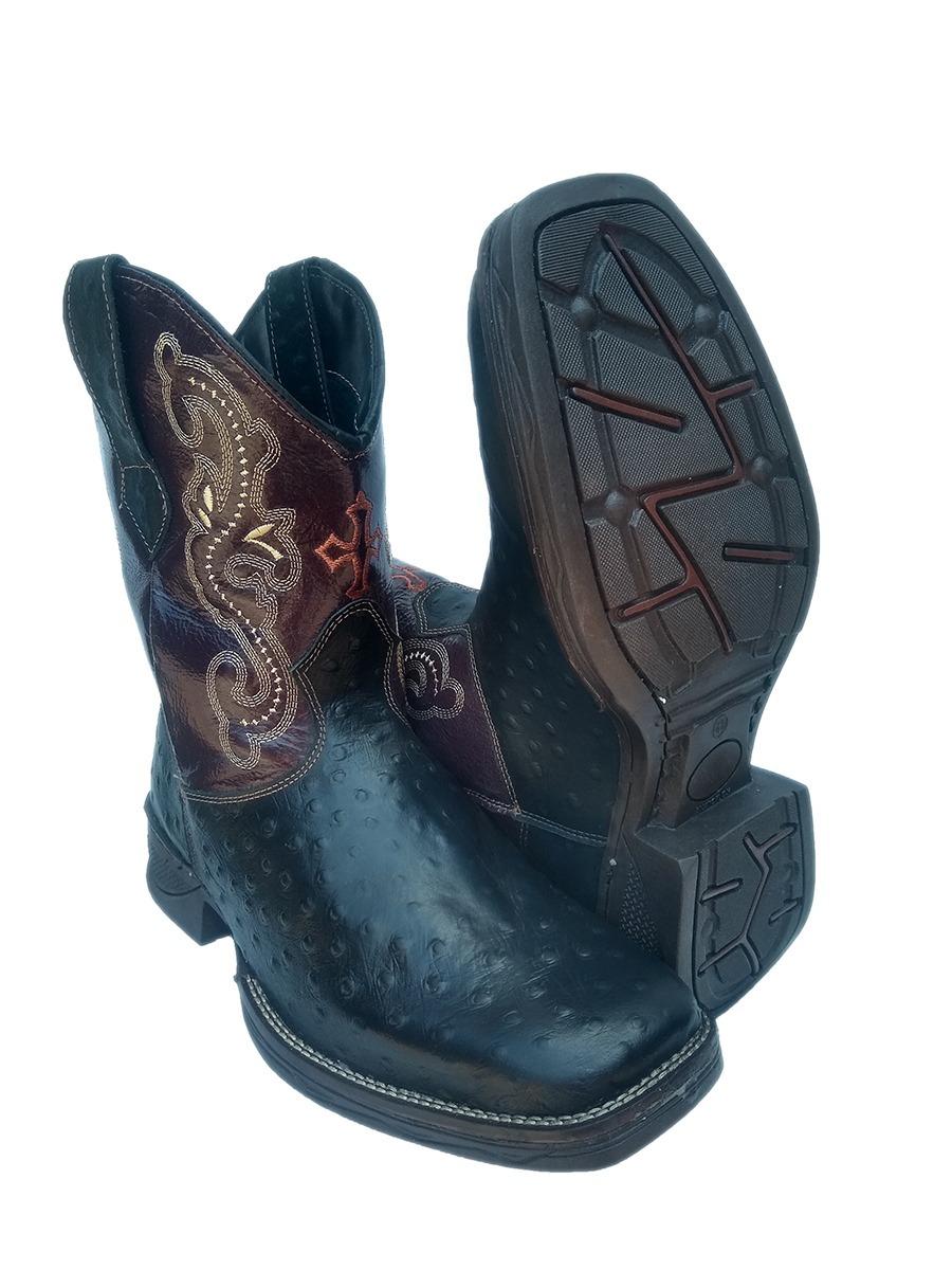 1849f65217 bota texana country masculina bico quadrado couro cano médio. Carregando  zoom.