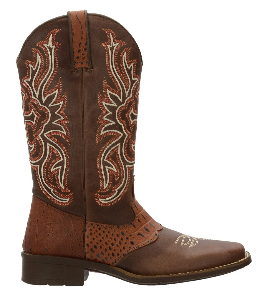 Bota Texana County Feminina Festa Do Peão Barretos Promoção - R  254 ... 1747e4f7764