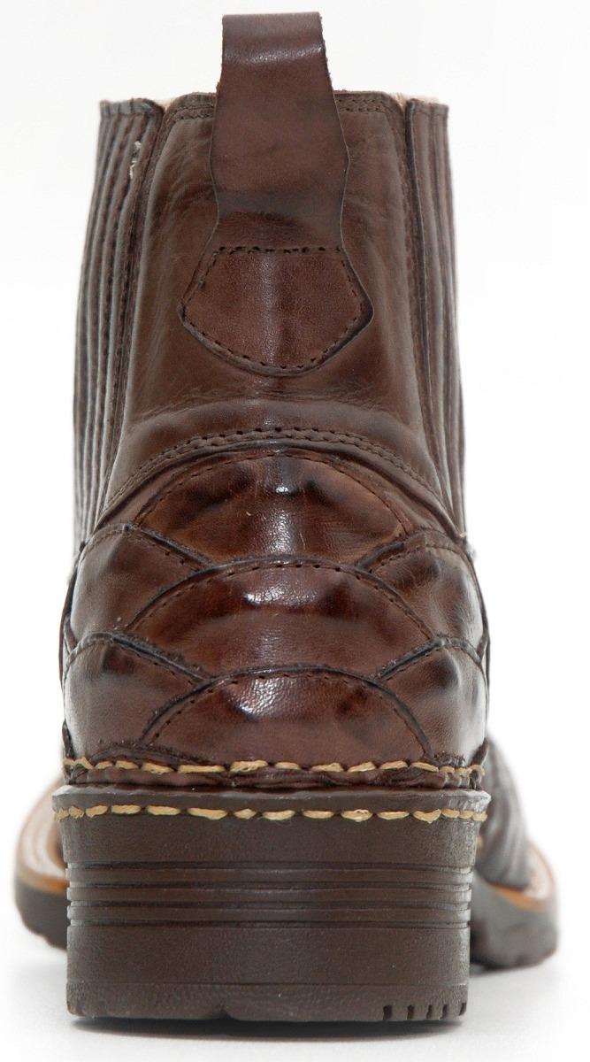bota texana escamada country-western-hoper couro legitimo. Carregando zoom. 0f08c237ee5