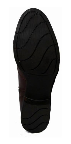 bota texana escrete bico redondo cano médio