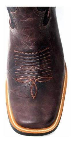 bota texana goyazes cano alto vermelho