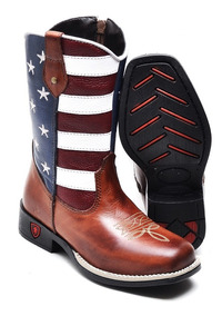 70ad2055c Bota Texana Americana Botas - Sapatos com o Melhores Preços no Mercado  Livre Brasil