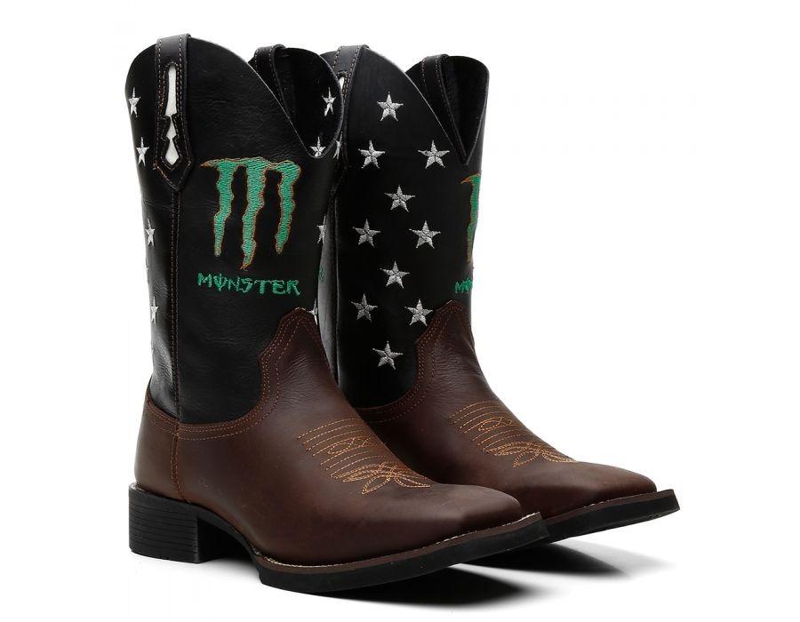 1058f0596b bota texana masculina bico quadrado couro montaria. Carregando zoom.