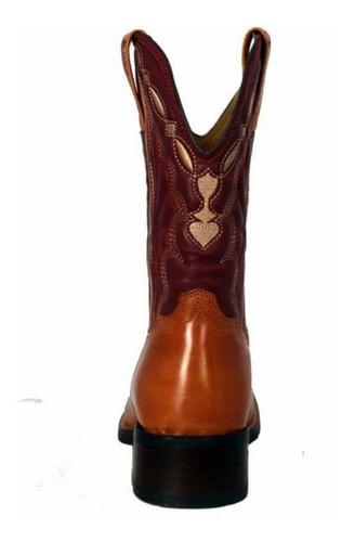 bota texana masculina bico quadrado - top country