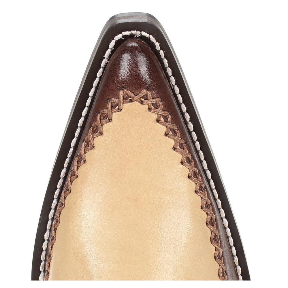 bota texana masculina café  telha escovado caramelo. Carregando zoom. 0030526be63