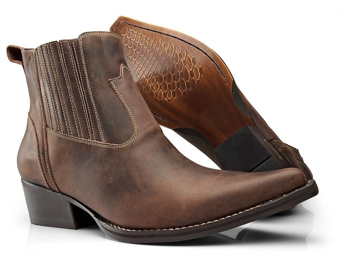 3887150cd4 bota texana masculina de bico fino country rodeio 4country. Carregando zoom.