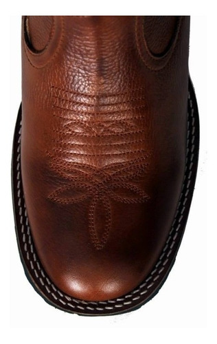 bota texana masculina goyazes bico redondo ref 1202
