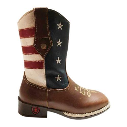 bota texana menino