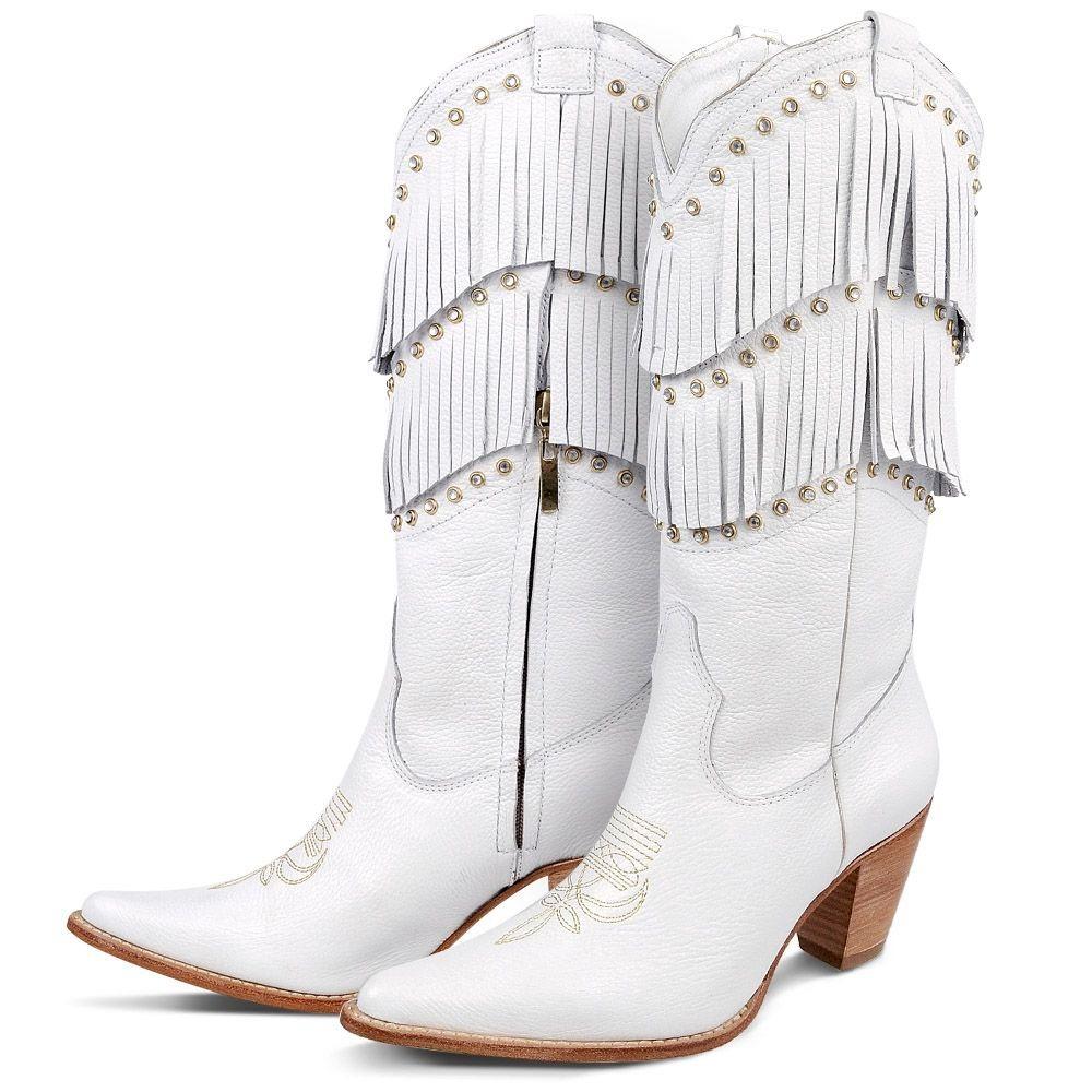 bd9c94ac2 Carregando zoom... texana silverado bota. Carregando zoom... bota country  texana silverado couro franjas strass feminina
