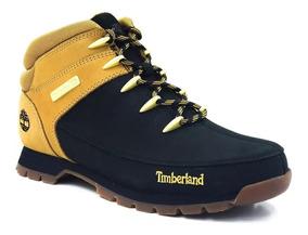 Bota Timberland Eurosprint Mid Hiker Negromiel Tb0a1k7t015
