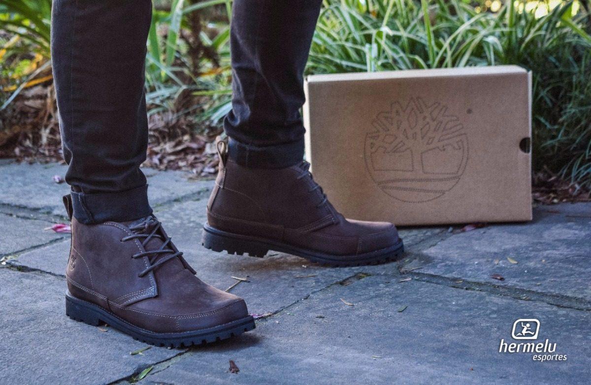 12c3d954c bota de couro timberland ek leather chukka os masculino · bota timberland  masculino. Carregando zoom.