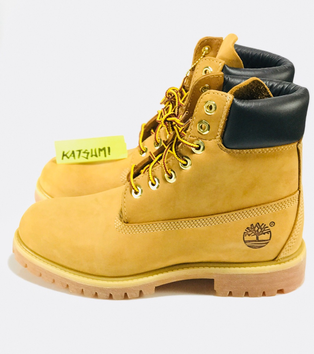 new york sale online large discount Bota Timberland Yellow Boot 38 7.0 Nova Original Sem Juros
