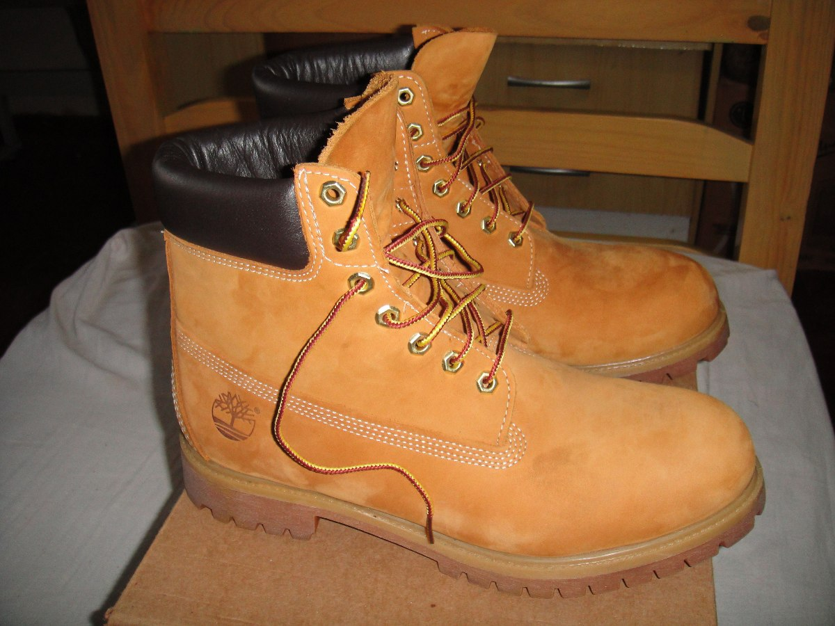 a701a7d2b bota timberland yellow boot 6 waterproof nova - nº 43. Carregando zoom.