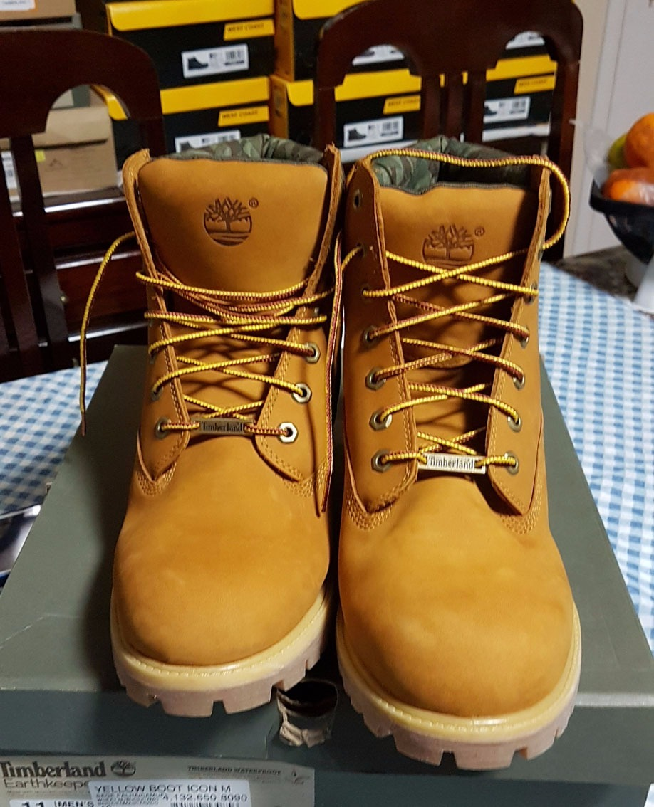 ee93cbcba bota timberland yellow boot waterproof essa é original. Carregando zoom.