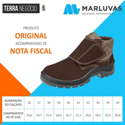 bota trekking nobuck biqueira butina marluvas 50b26 cb vel