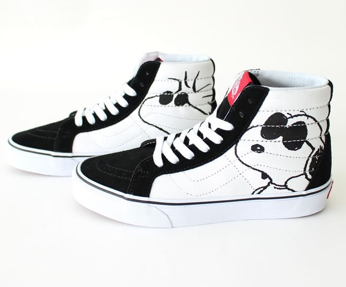 a742cd060a598 Bota Vans Sk8 Hi Peanuts Snoopy Joe Cool Limitad Look Trendy ...