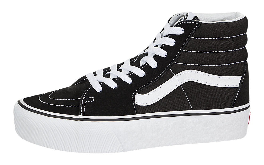 bota vans sk8 hi plataforma negro blanco dama bt look trendy. Cargando zoom. 956a2d65a0f