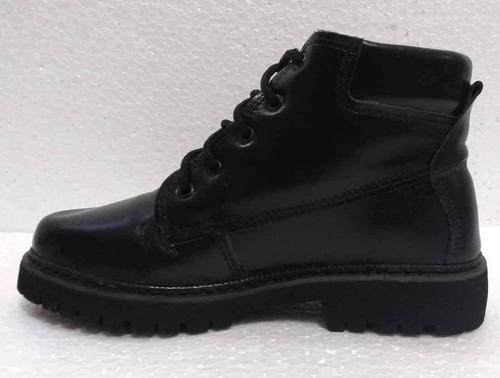 bota vaquejada 1000 preto/couro