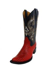 ajuste clásico calidad perfecta marcas reconocidas Botas Vaqueras Rojas Para Mujer en Mercado Libre México