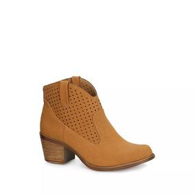 2745e686f Bota Vaquera Mujer Fresca Perforaciones Confort Cool 2620220
