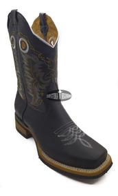 mayor selección de 2019 oferta especial mejores zapatillas de deporte Bota Vaquera Rodeo Para Hombre Color Crazy Negro