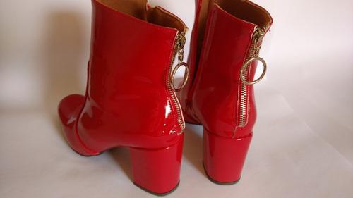 bota vermelha 36