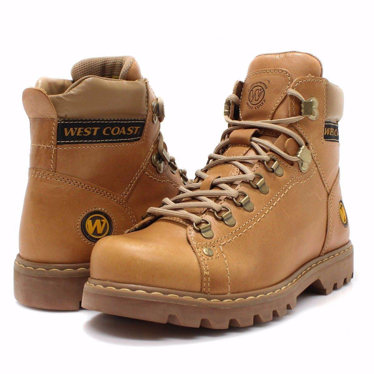 c5aca0326e bota west coast worker classic couro legítimo masculina. Carregando zoom.