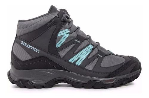 bota zapatilla salomon mudstone 2 gtx w mujer waterproof