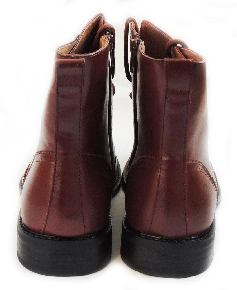 Para De Tipo Casual Bota Piel Hombre Militar Zapato Botin XxOR0Onqd