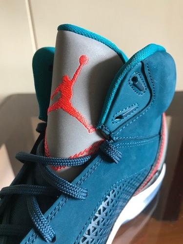 bota zapato nike jordan flight remix talla 9